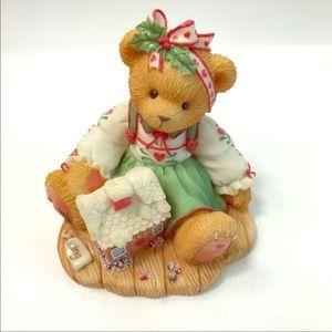Cherished Teddies Christmas Collectible Figurine